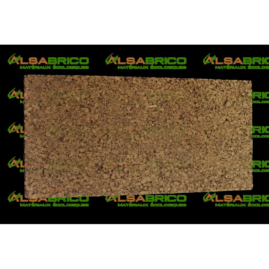 Plaque de liège naturel poncée dense isolante