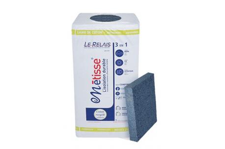 Panneau en laine de coton recyclé LE RELAIS METISSE
