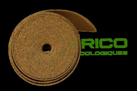 Sous-couche liège en rouleau, standard 4mm-Déroulé