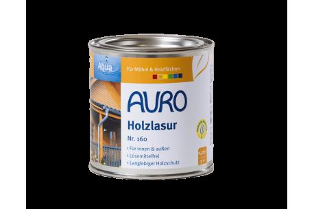 Lasure pour bois n°160 AURO - Pot de 0,375L