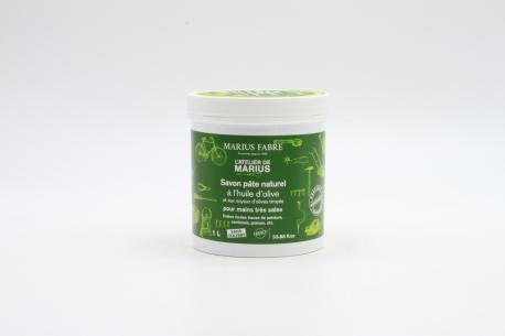 Savon pâte naturel à l'huile d'olive MARIUS FABRE face 1L
