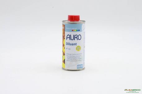 Diluant végétal aux huiles essentielles d'orange n°191 AURO - 250ml Face