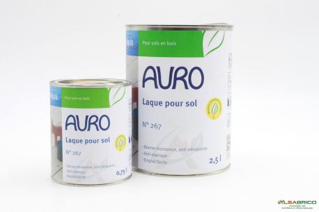 Laque pour sol n°267 AURO - Groupe 2 conditionnements