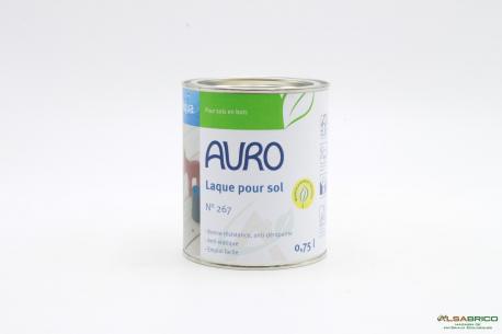Laque pour sol n°267 AURO - Pot de 0.75L face