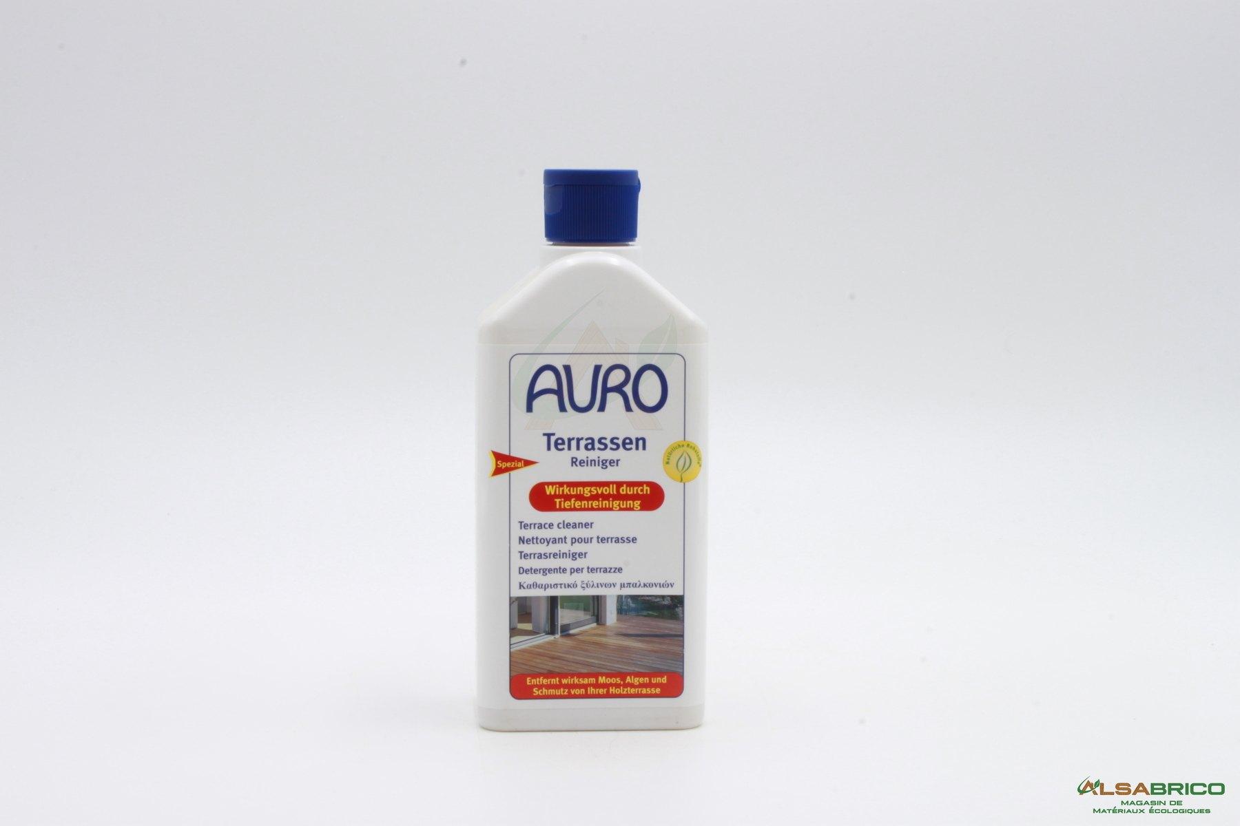 Produit Nettoyage Dalle Terrasse nettoyant pour terrasse n°801 auro | traitement du bois
