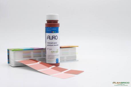 Colorant pour peinture blanche AURO n°330 - Rouge Anglais 250ml face