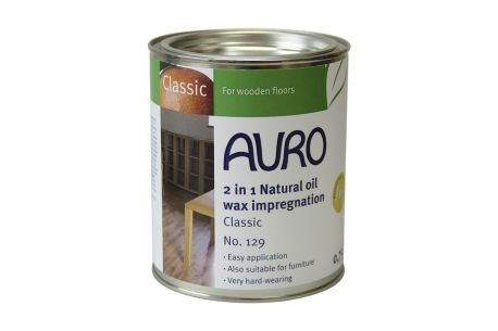 Imprégnation cire aux huiles naturelles (2 en 1) AURO n°129