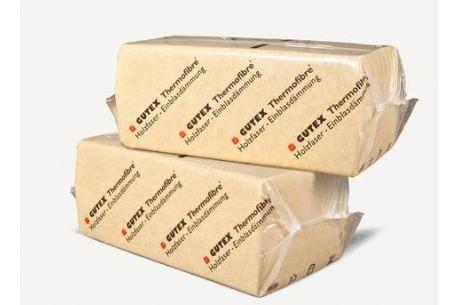 GUTEX Thermofibre : isolant en fibres de bois à souffler en vrac - Sac de 15kg