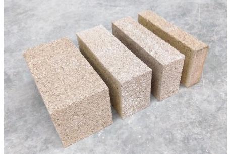 Béton de chanvre en brique MULTICHANVRE de Vieille Matériaux